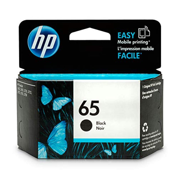 HP 65 N9K02AN#140 Ink Cartridge Black N9K02AN