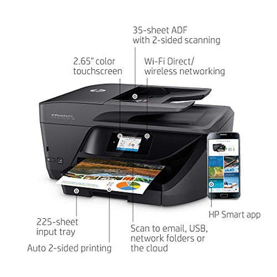 HP OfficeJet Pro 6978 All-in-One Wireless Printer with Mobile Printing, HP Instant Ink & Amazon Dash Replenishment Ready (T0F29A) (Renewed)