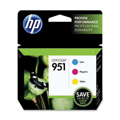 HP 951 CR314FN#140 Cyan/Magenta/Yellow Original Ink Cartridge Combo Pack