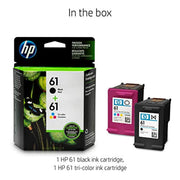 HP 61 CR259FN#140 2 Ink Cartridges  Black, Tri-color CH561WN, CH562WN