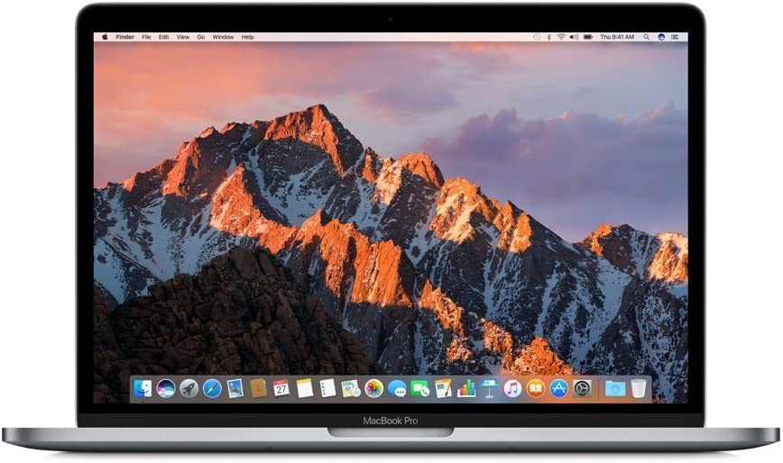 "Apple MacBook Pro Retina with Touch Bar MLH12LL/A 13"" Laptop, 2.9GHz Dual Core Intel Core i5, 8GB Memory, 512GB SSD, macOS Mojave 10.14, Space Gray (Refurbished)"