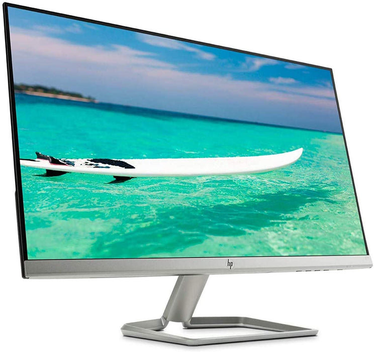 New HP 27f Display 27in Full HD IPS Ultra-Slim Backlit LED Micro-Edge VGA HDMI (Renewed)