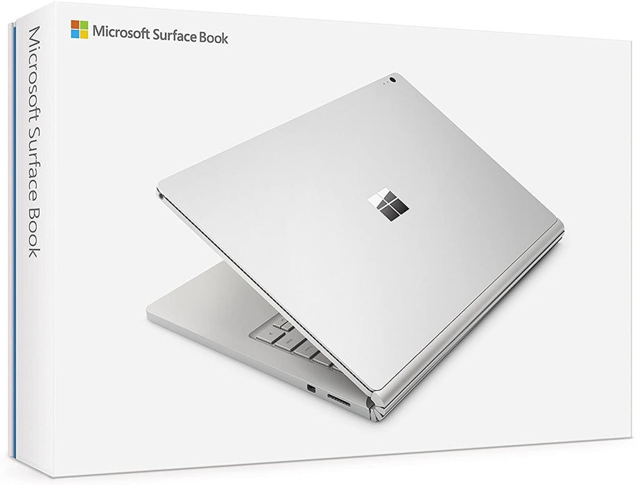 Microsoft Surface Book SW5-00001 2-in-1 Notebook PC - Intel Core i7-6600U 2.6 GHz Dual-Core Processor - 8 GB RAM - 256 GB Solid State Drive - 13.5-inch Touchscreen Display - (Renewed)