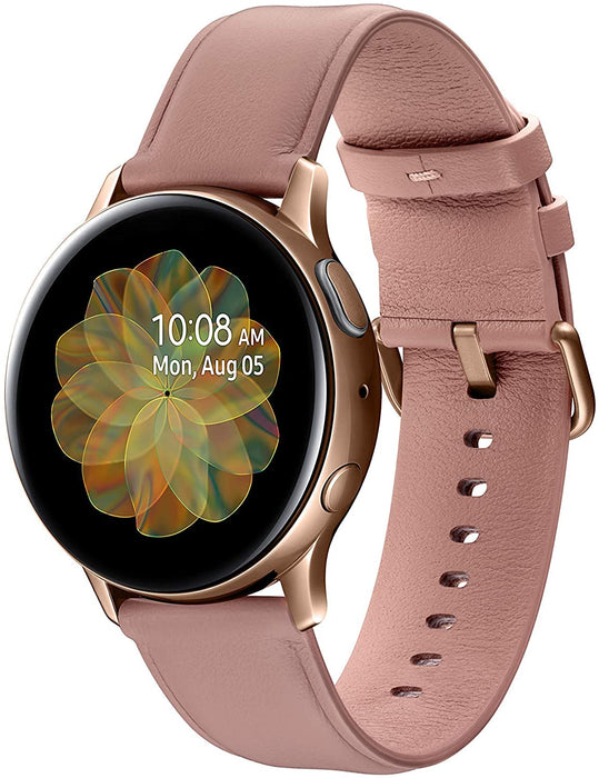 Samsung Galaxy Watch Active2 Stainless Steel LTE GSM Unlocked SM-R835U (ATT, Verizon, Tmobile, Sprint) - US Warranty (Renewed)