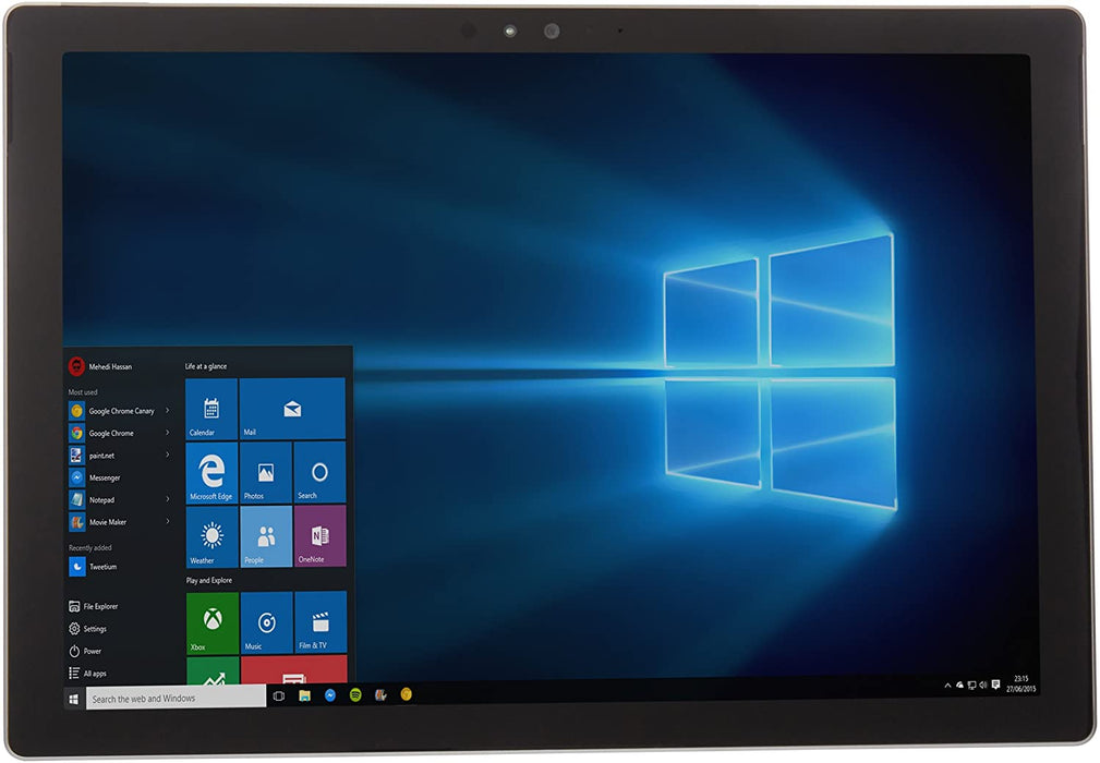 Microsoft Surface Pro 4 (12.3) 256GB/8GB Intel i5-6300U 2.4GHz Tablet PC 1724 (Renewed)