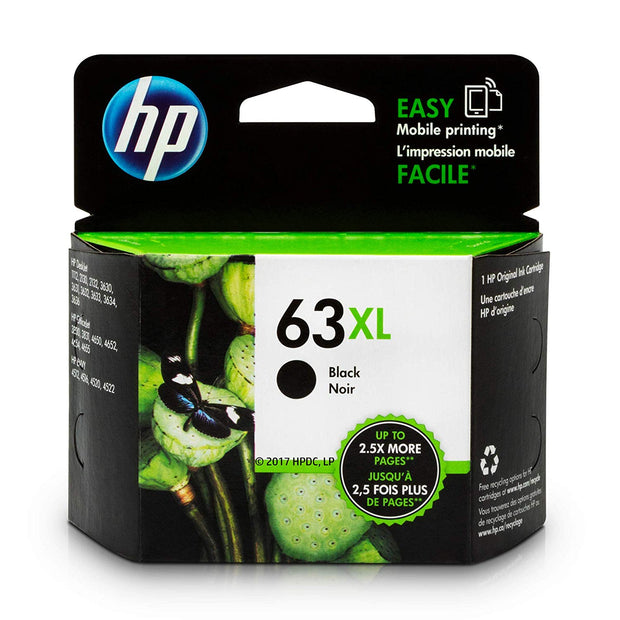 HP 63XL F6U64AN #140 Ink Cartridge Black F6U64AN