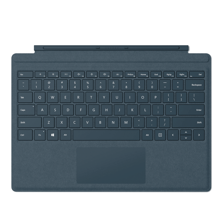 Microsoft Surface Pro Signature Type Keyboard Cover - Cobalt Blue  (FFP-00021)