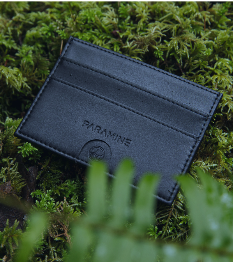 Slim Blackout Wallet
