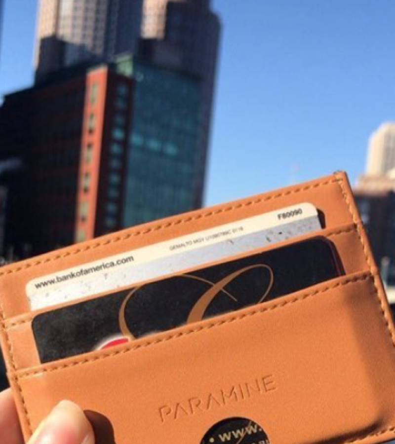 Slim Tan Wallet