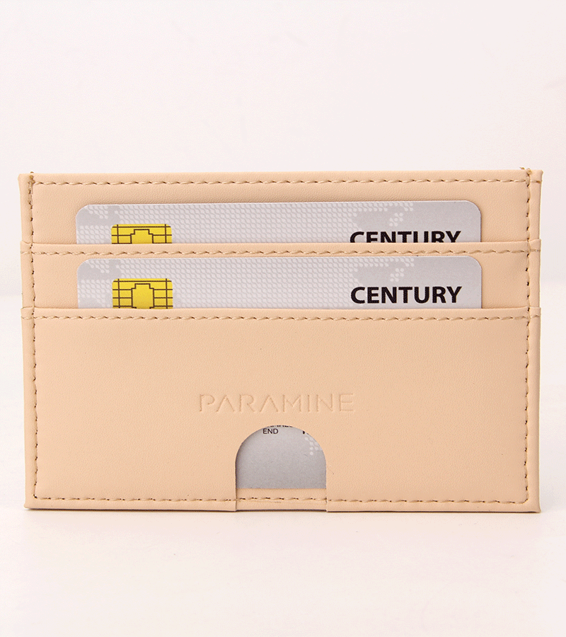 Slim Pale Wallet