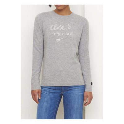 Bella Freud Close To My Heart Cashmere Jumper