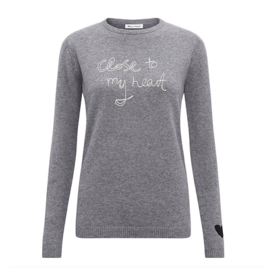 Bella Freud Cashmere Jumper Close To My Heart