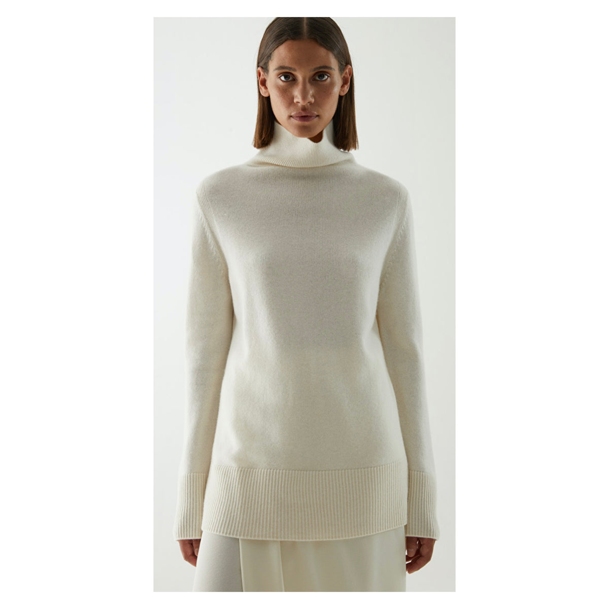 Cos Cashmere Roll-Neck Jumper