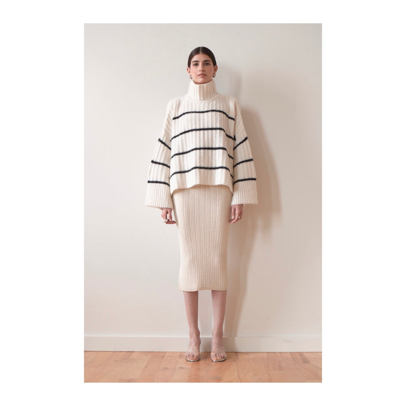 Eleven Six Poncho Sweater