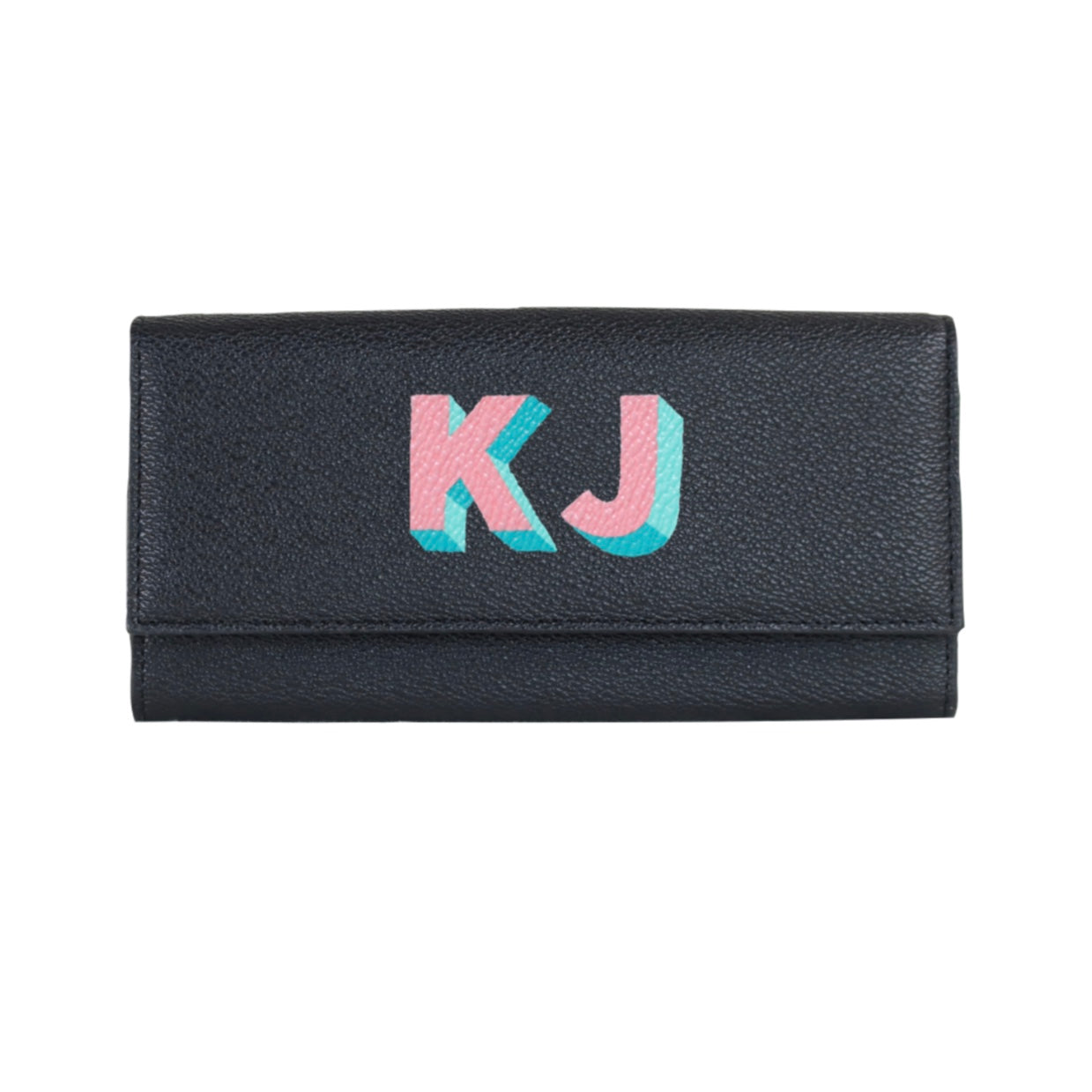 Luxtra London Esther Continental Wallet Personalised