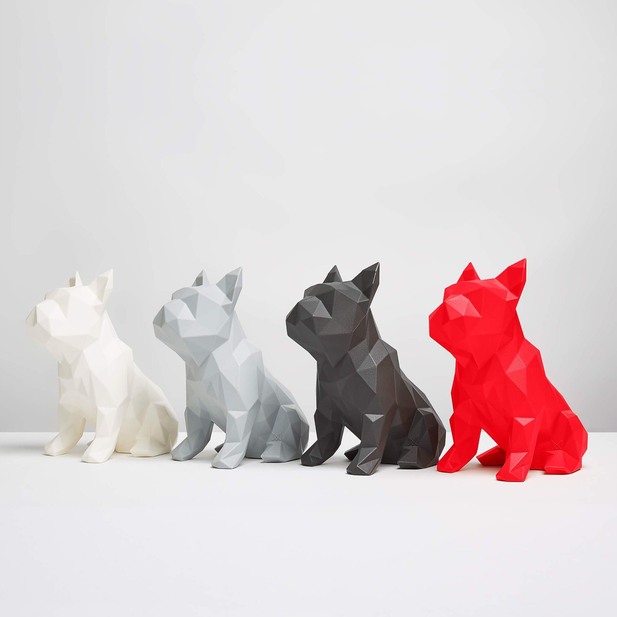 "Marokka Geometric French Bulldog Sculpture - ""Frank"""