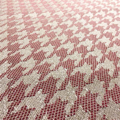 Rose Houndstooth Zero Waste