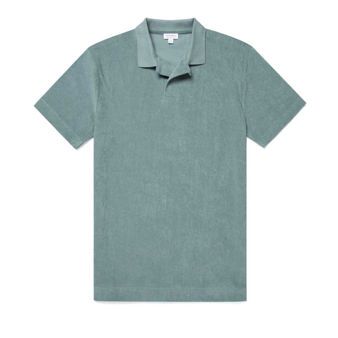 Sunspel Towelling Polo Shirt