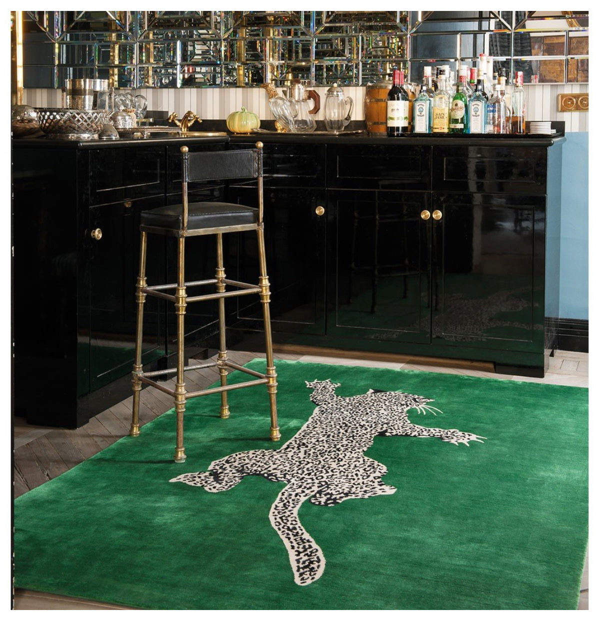 The Rug Company Climbing Leopard Rug