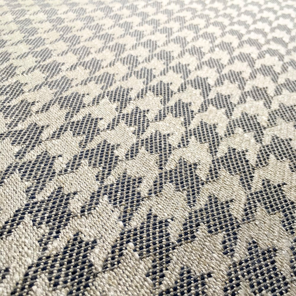 Navy Houndstooth Zero Waste