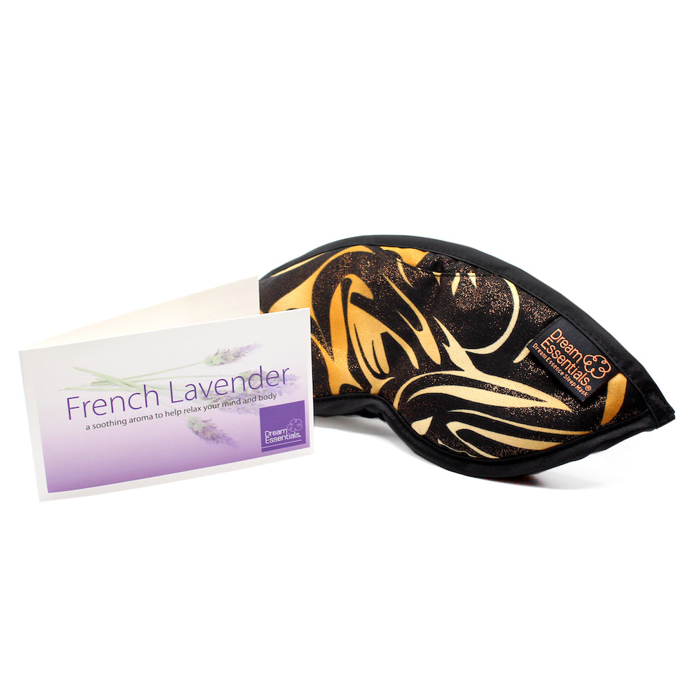Dream Essence Lavender Aromatherapy Sleep Mask - Made in the USA (3 Styles) - Dream Essentials LLC.