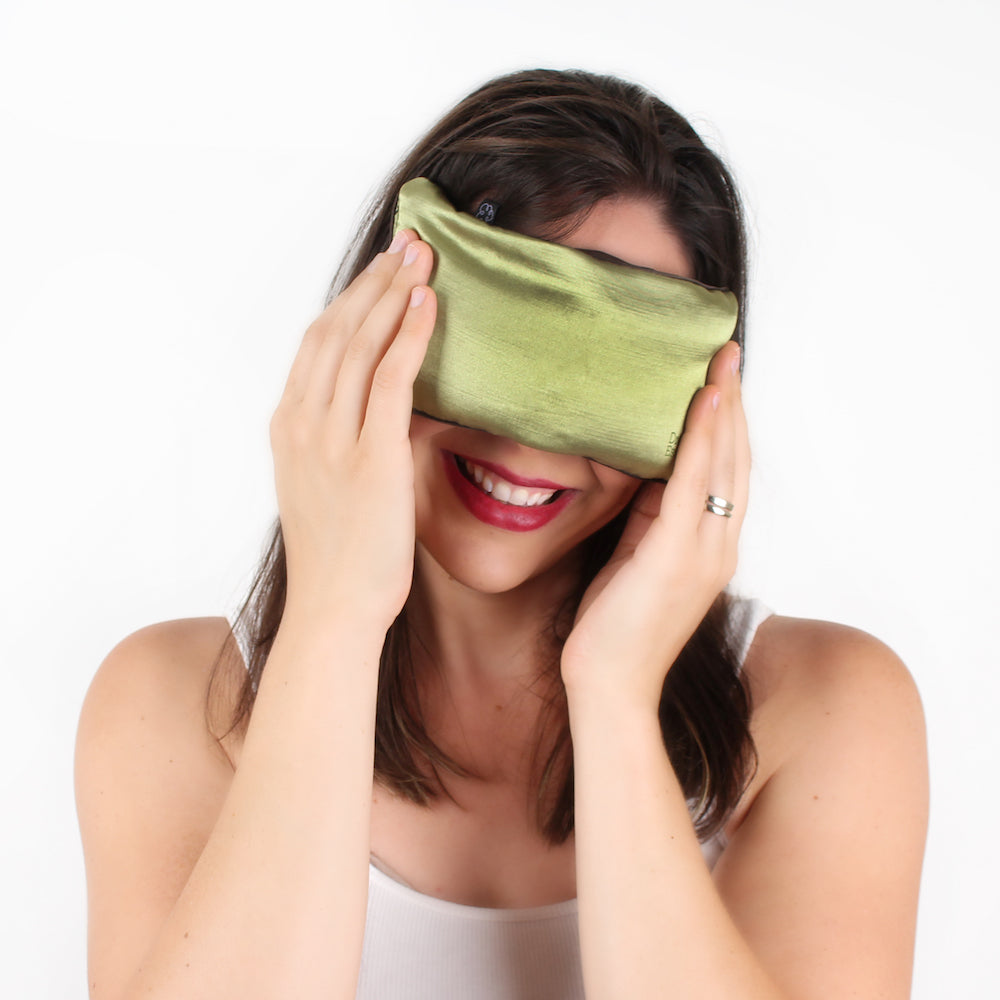 Flax Seed Eye Pillow with Lavender (2 Colors) - Dream Essentials LLC.