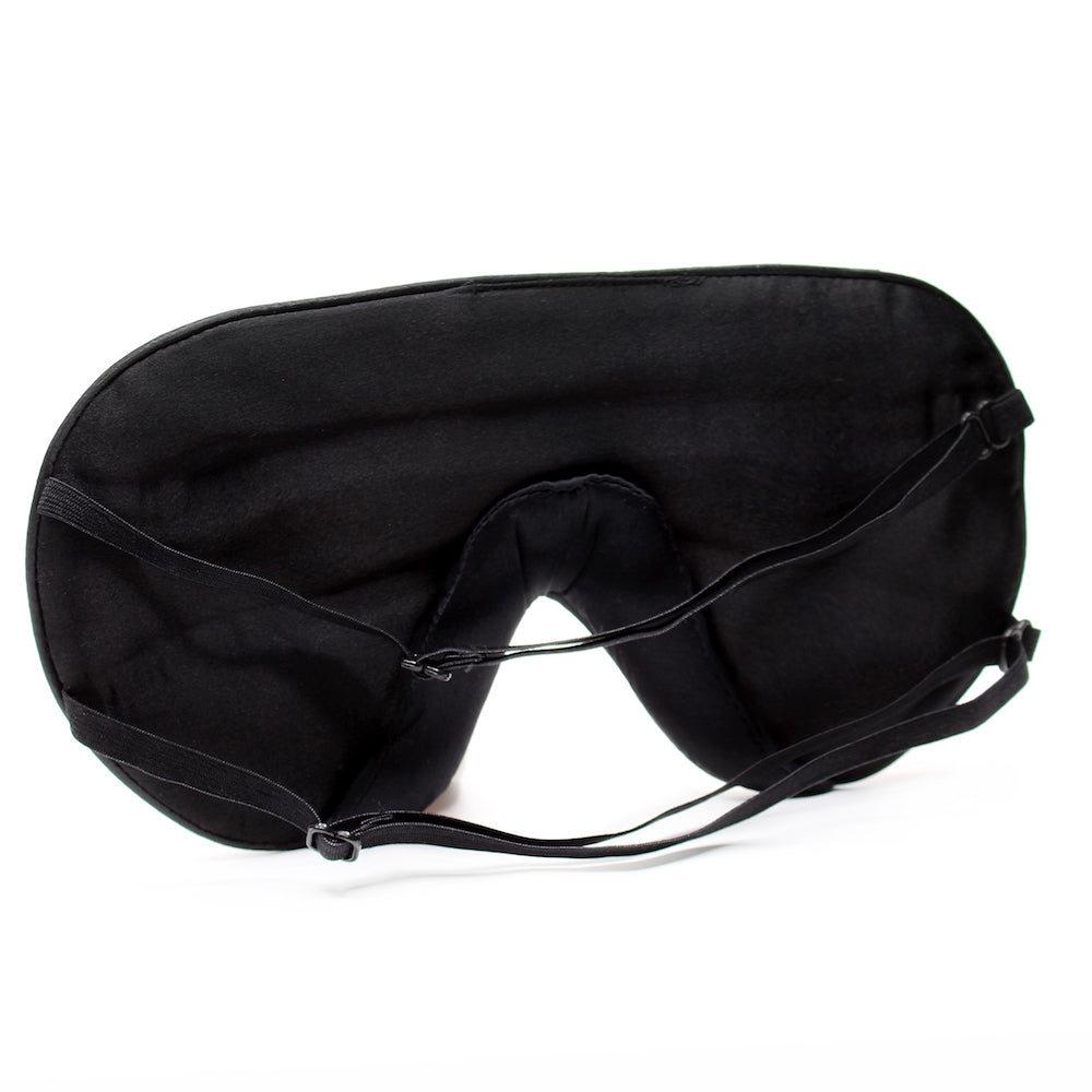 Silk Side Sleeper Mask (2 Colors) - Dream Essentials LLC.