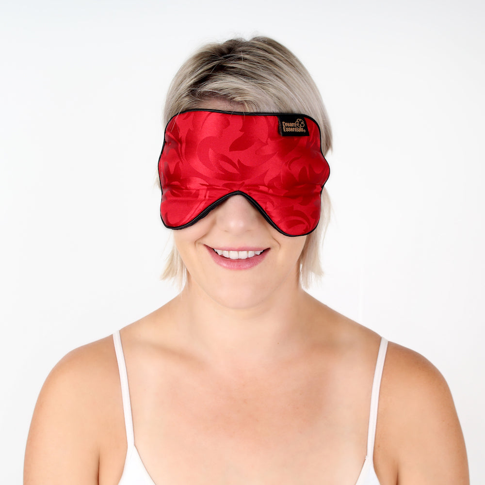 Silk Side Sleeper Mask - Dream Essentials LLC.