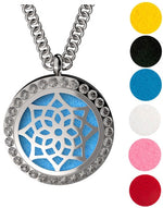 Necklace Diffusers Without Oils (Stainless Steel) - Dream Essentials LLC.
