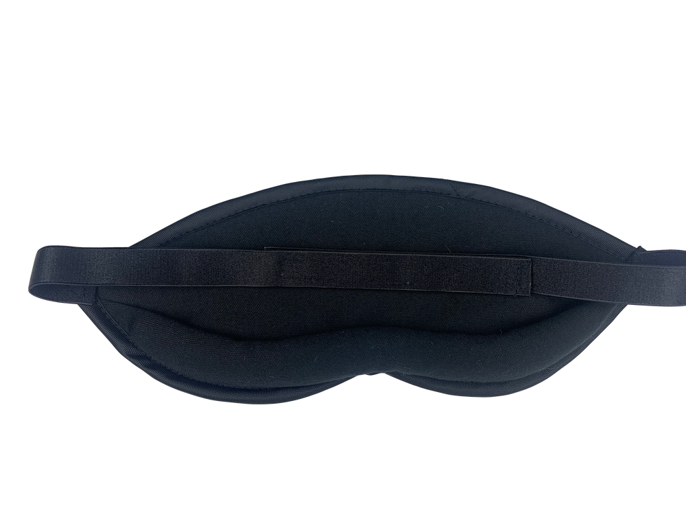 Micro Suede Snake Skin Style Sleep Mask - Made in the USA - Dream Essentials LLC.