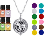Necklace Diffuser With Oils (Alloy) - Dream Essentials LLC.