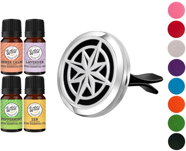 Car Vent Diffusers With Oils - Dream Essentials LLC.