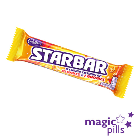 starbar cadbury en france magic pills chocolats anglais