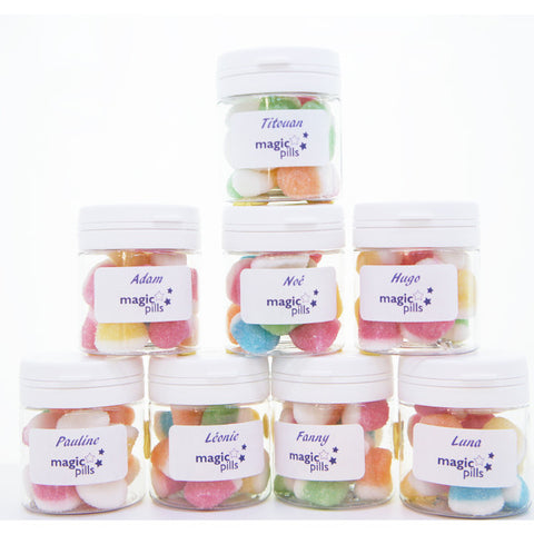 Assortiment de mini flacons