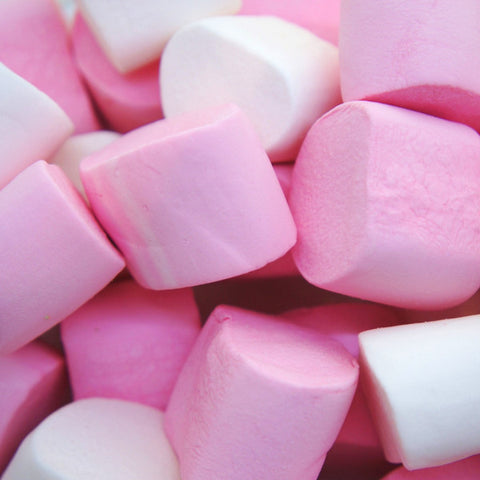 Bonbons chamallow pink and white - Magic Pills : vente bonbons en ligne