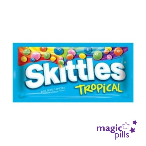 Skittles Tropical bonbons américain en france magic pills