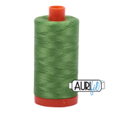 Aurifil Cotton Mako Thread - Grass Green (1114) - Large Spool (1300m/1422yd)
