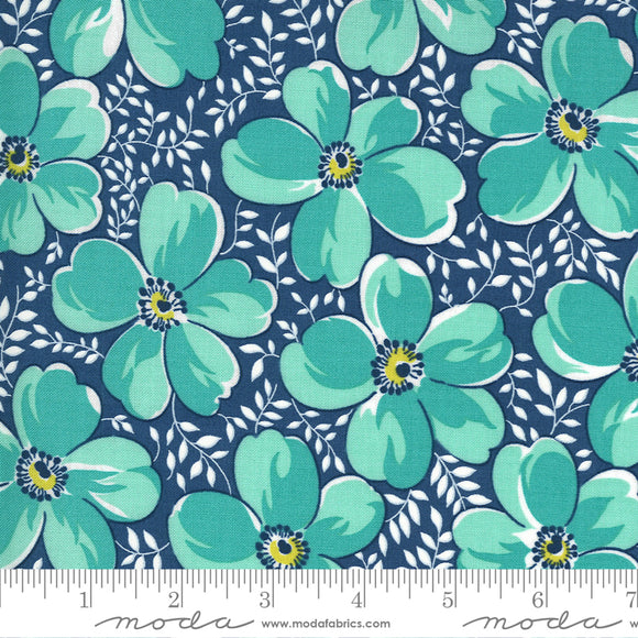Bluebird (23330 15) - Flowers For Freya by Linzee Kull McCray for Moda Fabrics