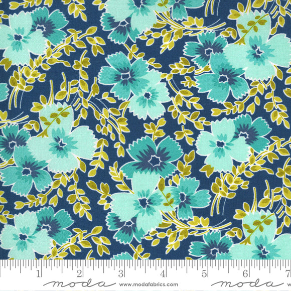 Bluebird (23332 15) - Flowers For Freya by Linzee Kull McCray for Moda Fabrics