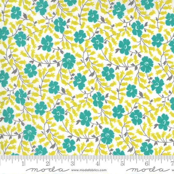 Cloud Pond (2333 11) - Flowers For Freya by Linzee Kull McCray for Moda Fabrics