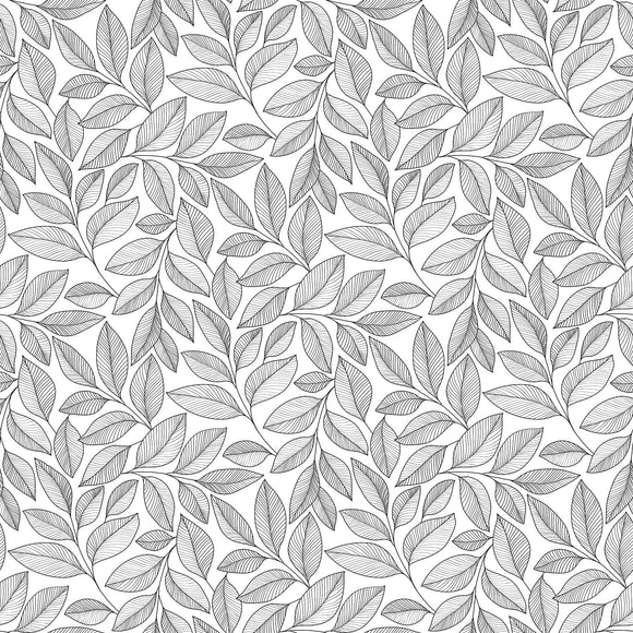 White/Black - 23913-99 - Simply Neutral 2 by Northcott Fabrics