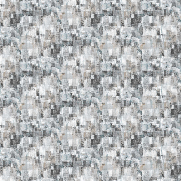 Large Textured Light Gray (23958 93) - City Lights by Nina Djuric for Northcott - $17.99/m ($16.60/yd)
