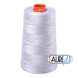 Aurifil Cotton Mako Thread - Dove (2600) - Cone (5900 m/6452 yd)