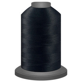 Glide Polyester Thread - Black (11001) - King Spool (5000m/5468yd)