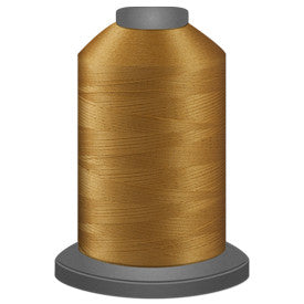 Glide Polyester Thread - Military Gold (27407) - King Spool (5000m/5468yd)
