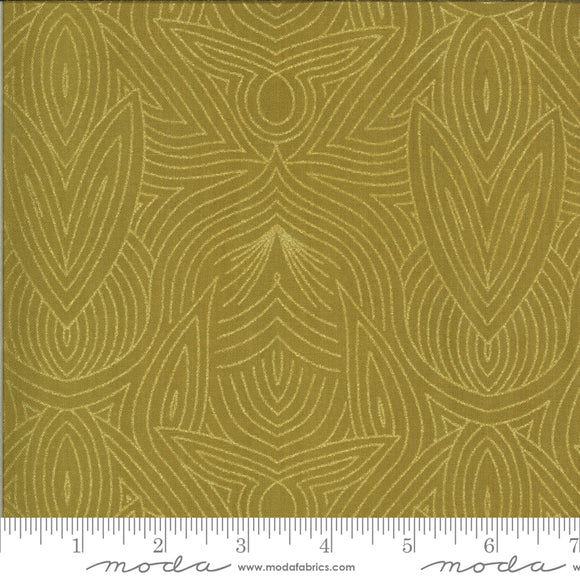 Umber (48316 32M) - Dwell In Possibility by Gingiber for Moda Fabrics - $19.99/m