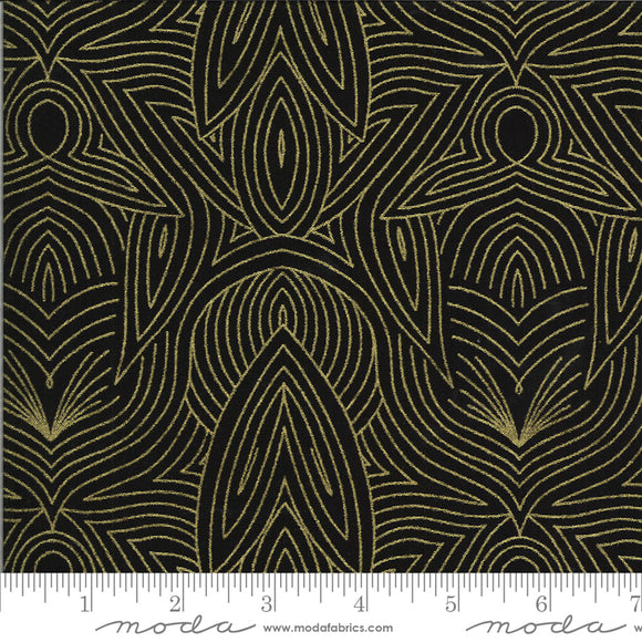 Night (48316 34M) - Dwell In Possibility by Gingiber for Moda Fabrics - $19.99/m