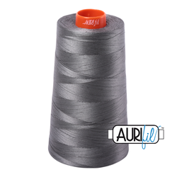 Aurifil Cotton Mako Thread - Grey Smoke (5004) - Cone (5900 m/6452 yd)