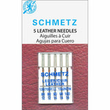 Schmetz Leather Needles - Size 80/12. 90/14 and 100/16