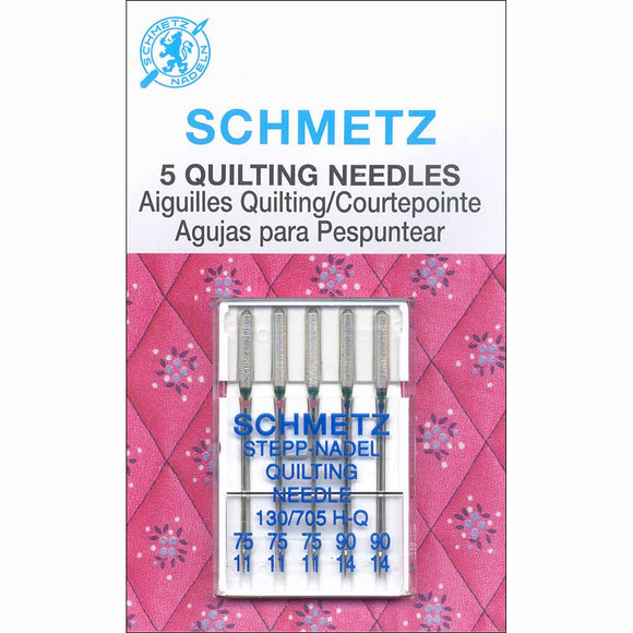Schmetz Quilting Needles - Size 75/11 and 90/14